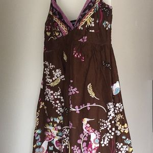 Cutest dress w/birds and flowers. Wet Seal Small